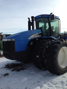 Newholland tj 375 4wd tractor