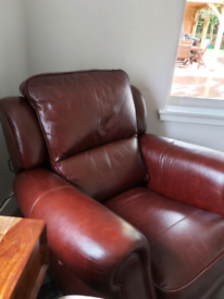 High quality aniline leather armchair reclining