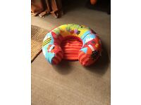 Sit me up inflatable ring