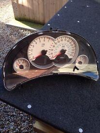 Corsa sxi White clocks. £10