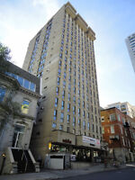 Spacious - clean - well managed - great Downtown location