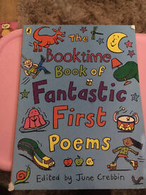 Fantastic First Poems Book
