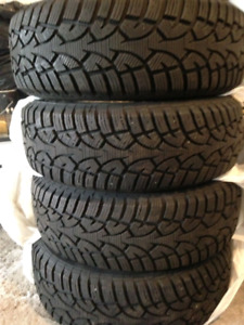 195/65/R15 winter tires used only 1 season