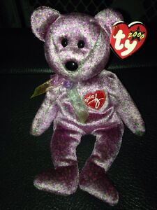 2000 signature bear Ty beanie baby with tags price firm