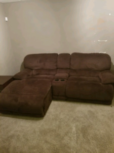 Condo size sectional