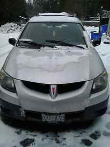 2004 Pontiac Vibe Economical and lots of cargo space