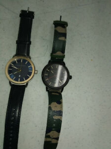 2 armani watches $100 each or both for $175