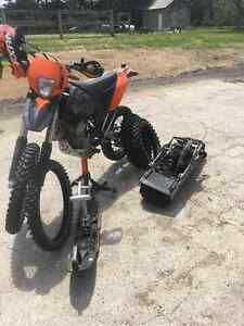 2010 Ktm 400 xcw - road or trail ready enduro - lots of extras