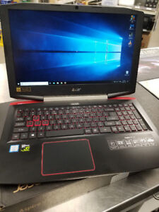 Acer 15.6 Gaming Laptop i7-7700 GTX 1050 16GB RAM 256GB SSD