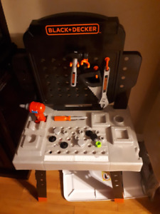 Black and decker Tool table play set