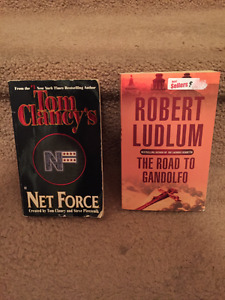 Books - Robert Ludlum & Tom Clancy