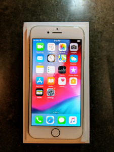 Apple iPhone 8 64gb with case + box - White