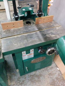 NEW Grizzly 7.5 HP Tilting Spindle Shaper 3 phase