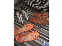 ladies clothes and shoe bundle