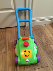 Fisher Price Lawn Mower (Plays music / various sound effects)