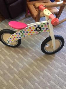 Chikd wooden bike $20