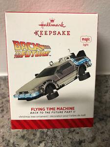 Hallmark Keepsake Ornament - Flying Time Machine - BTTF 2