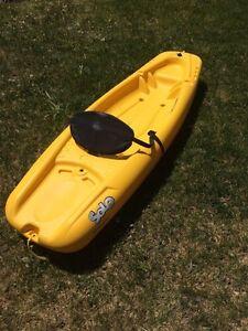 Solo Kids Kayak. No paddle