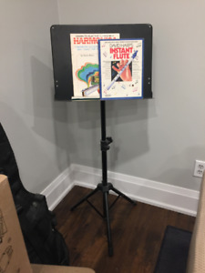 Just like the pros use - adjustable music stand