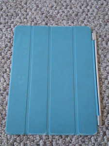 Ipad 2/3 cover magnetic case light blue