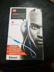 JBL SYNCHROS REFLECT BT WIRELESS HEADPHONES