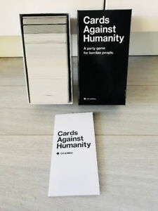 Cards Against Humanity Card Game - BRAND NEW