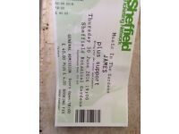 James Sheffield botanical gardens today 1 ticket