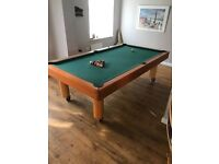 Snooker pool table 8ft x 4ft