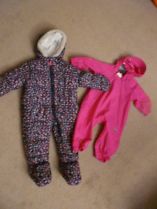 Baby snowsuit and splash suit