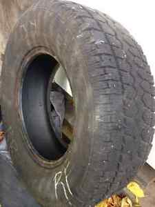 4 tires used-  studded  -great value- West Island Greater Montréal image 3