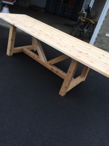 Cedar Outdoor Dining Table - Built-To-Order
