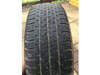 """Michelin Peugeot 14"""" wheel"""