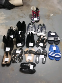 Ladies and man's shoes winter and summer shoes