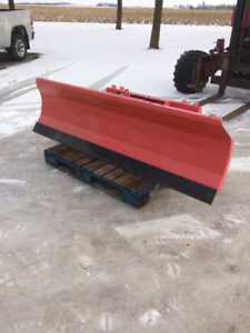 "86""skid steer quick attach hydraulic blade"