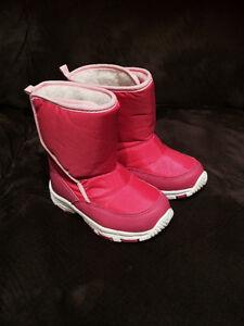 Toddler girl boots size 8- brand new Belleville Belleville Area image 1