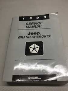 ORIGINAL SERVICE MANUAL FOR JEEP GRAND CHEROKEE 1999