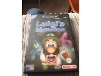 Luigi's Mansion GameCube game rare.