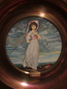 Antique TRAFFORD PLAQUES: Series No.1, The Old Masters