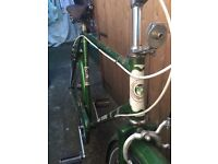 Vintage puch sit up and beg gents bike