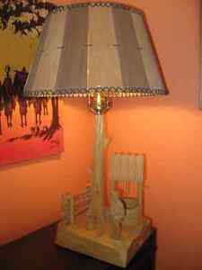 Caron Handmade Wood Sculpture Lamp West Island Greater Montréal image 1