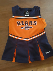 Chicago Bears cheerleading outfit 24 months