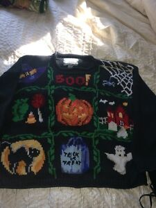 Large Ladies Halloween sweater