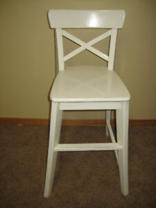 Ikea INGOLF Junior Chair White
