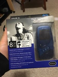 MP3 player in box