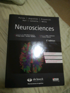 Neurosciences 5e édition, Purves