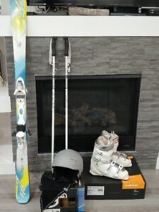 Woman's K2 Ski Package.