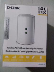 D-Link DIR-Wireless AC750 Dual Band Gigabit Router