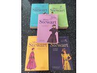 Mary Stewart books x5