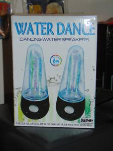 USB Water Dance Speakers - Gently Used