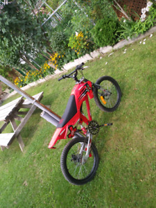 Red Dirtbike Bike For Sale